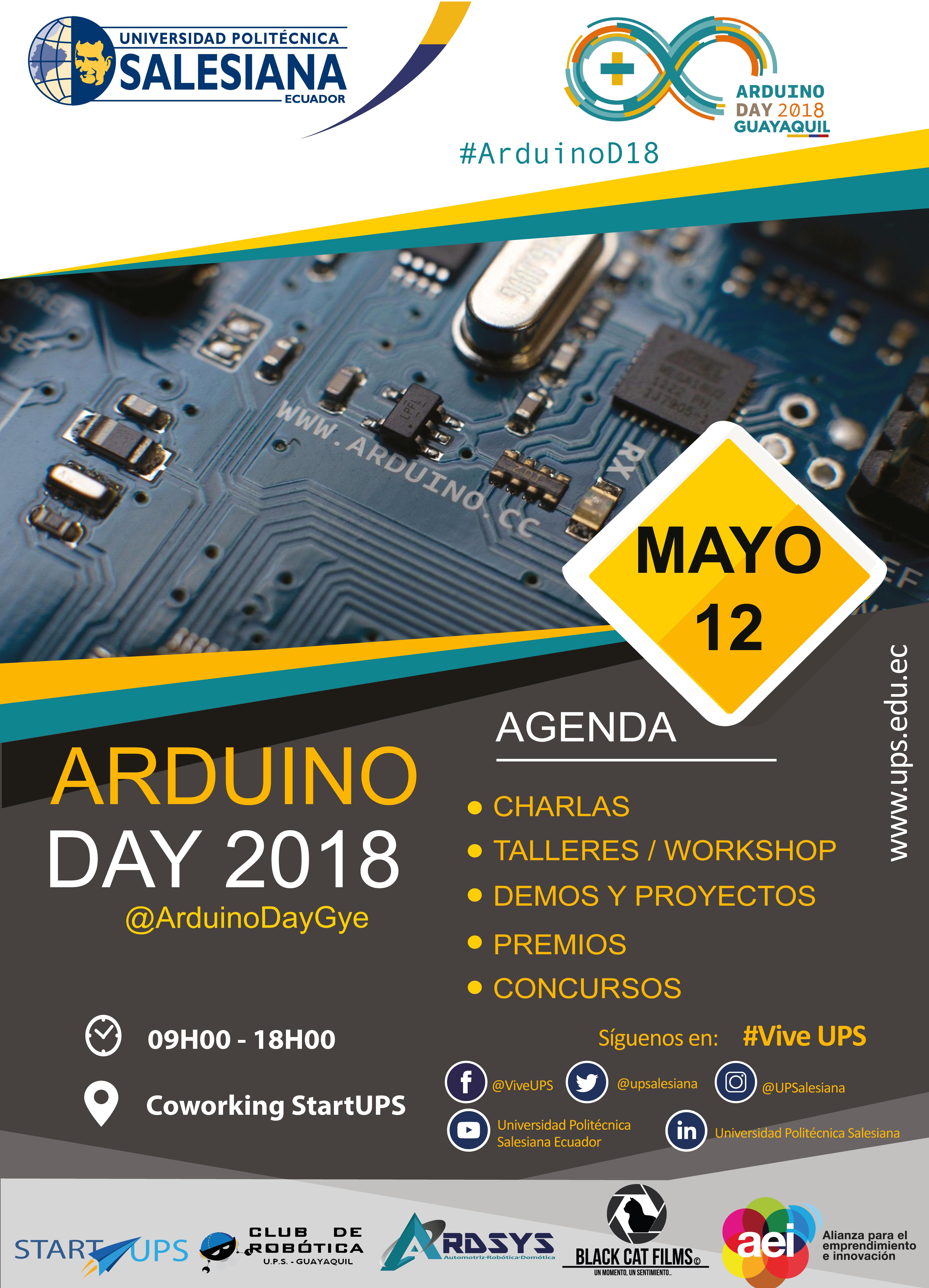 Arduino Day - UPS