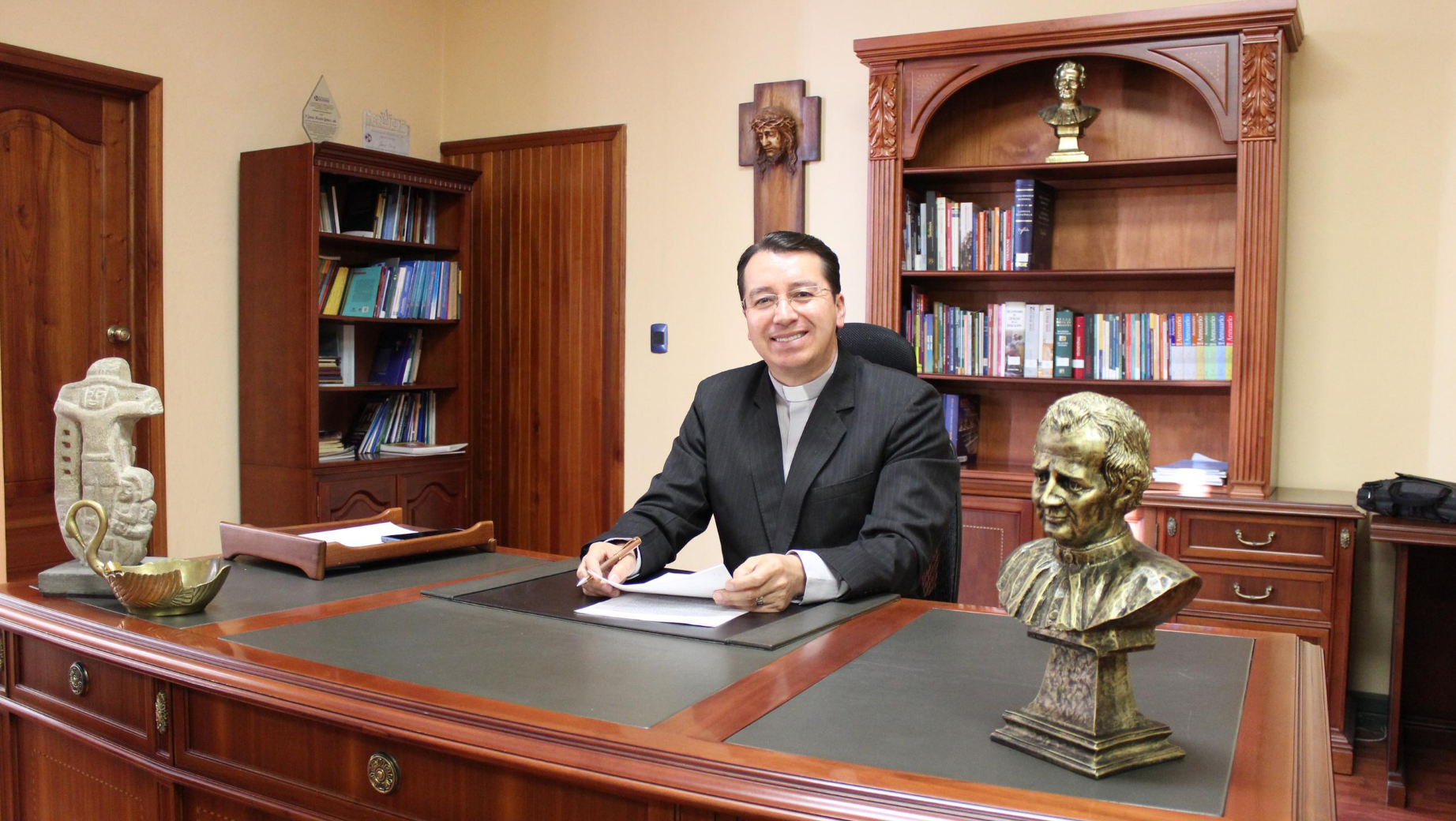 Father Juan Cárdenas Tapia, sdb. is the new Rector of the Salesian Polytechnic University of Ecuador