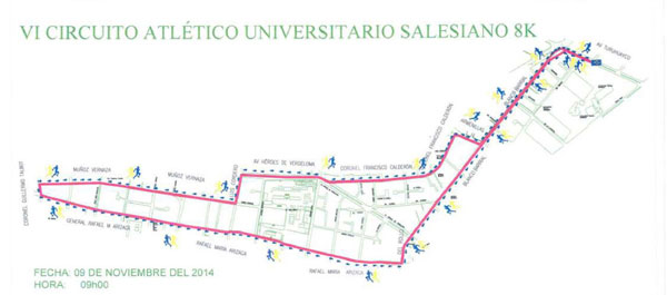Circuito Atlético Salesiano 8K