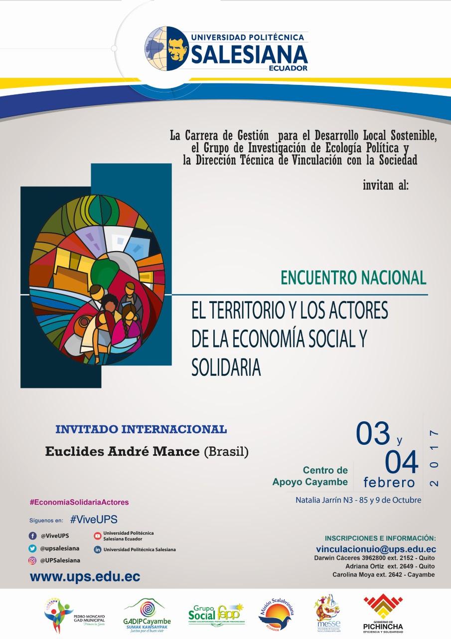Encuentro: El territorio y los actores de la Economía Social y ...